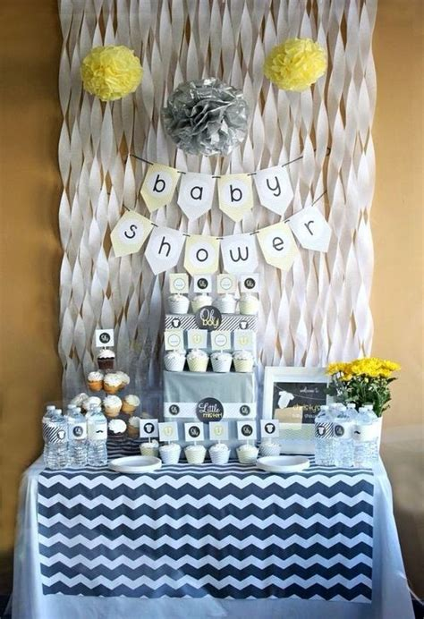 decoracion de baby shower  nino