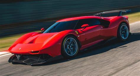 ferrari pc breaks cover    track  supercar