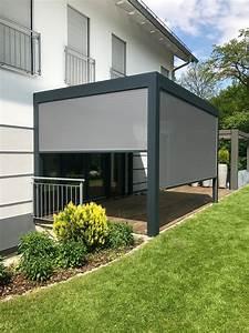 Pavillon Mit Lamellendach : lamellendach einfach optimaler sonnen und wetterschutz mit der bioclimatischen pergola b200 ~ Orissabook.com Haus und Dekorationen
