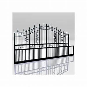 Portail Alu Coulissant 4m : portail coulissant aluminium 4m ~ Dailycaller-alerts.com Idées de Décoration