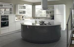 cuisine gris anthracite 56 idees pour une cuisine chic With quelle couleur avec du gris clair 3 deco cuisine sejour salon