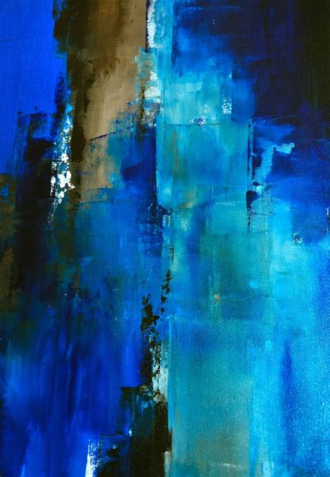 Passage 30 X 24 Abstract Acrylic Painting On Canvas