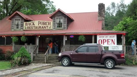 back porch cafe back porch restaurant townsend restaurant reviews