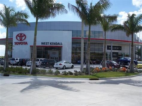 Toyota Of Kendall by West Kendall Toyota Car Dealership In Miami Fl 33186