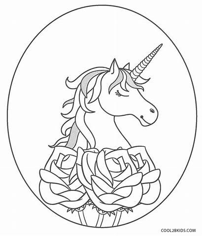 Printable Unicorn Coloring Pages Unicorns Cool2bkids Splendi