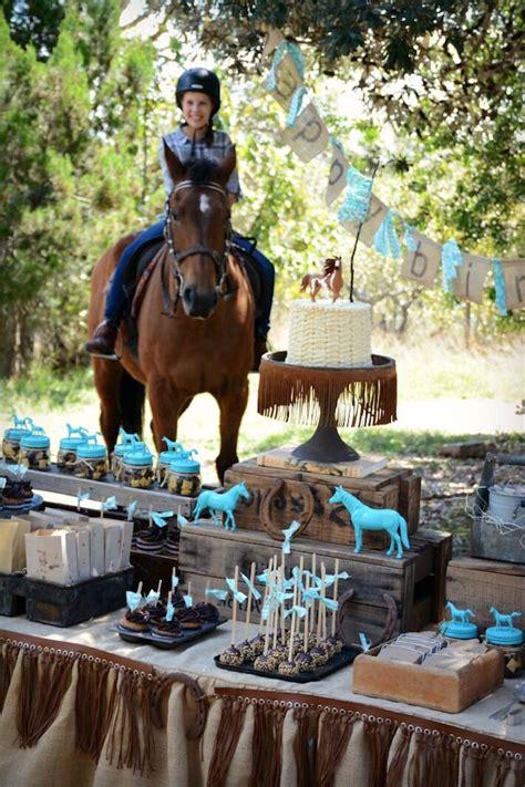 Kara's Party Ideas Rustic Horse Birthday Party Kara's