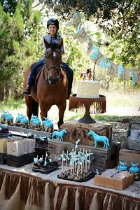 Kara39s Party Ideas Rustic Horse Birthday Party Kara39s