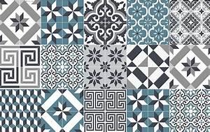 Tapis Motif Carreaux De Ciment : tapis vinyle une des grandes tendance de l 39 ann e ~ Teatrodelosmanantiales.com Idées de Décoration