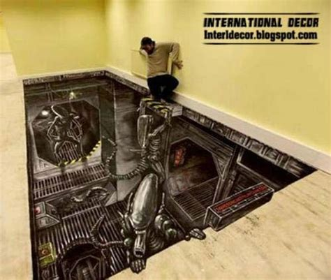 3D Floor Murals and 3D self leveling floors, 3d flooring 2017