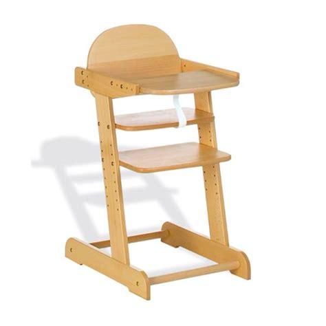 chaise haute bois evolutive chaise haute évolutive philip pinolino acheter sur