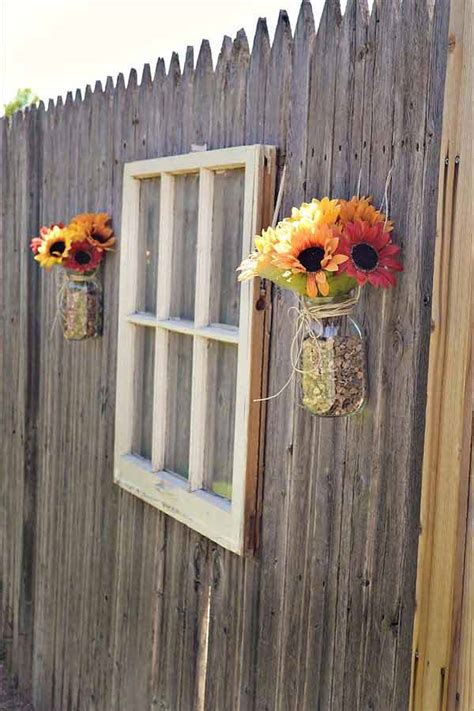 Top 23 Surprising Diy Ideas To Decorate Your Garden Fence
