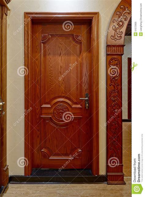 Wooden Door Stock Image Image Of Framework, House, Exit