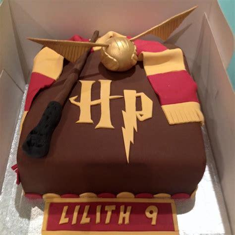 harry potter cake anniversaire anton pinterest