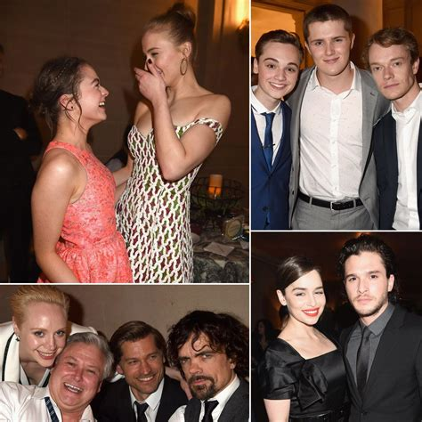 game  thrones cast lets loose  california