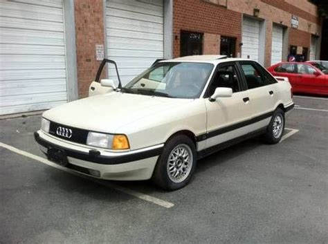 free service manuals online 1990 audi 80 user handbook buy used 1990 audi 90 quattro 20v manual 5 speed in silver spring maryland united states for