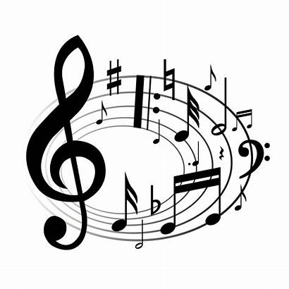 Clipart Musical Clip Christmas Band Song Notes
