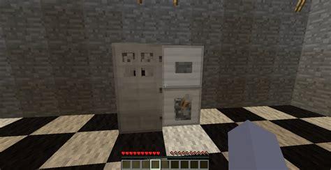 minecraft kitchen furniture how to a fridge in minecraft minecraft