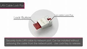 Lan Cable Lock Plus  Csk-nc11  User Guide