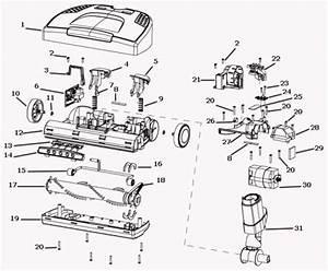 Electrolux El7062a Power Nozzle El13a Parts And Diagram