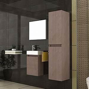 Badmöbel Set Braun : badm bel set waschbecken und unterschrank design spiegel badezimmerset farbe braun ~ Orissabook.com Haus und Dekorationen