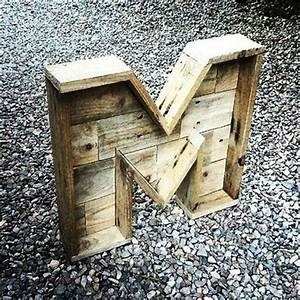 maderhisteriacom diy pallet letters wood pinterest With pallet letters