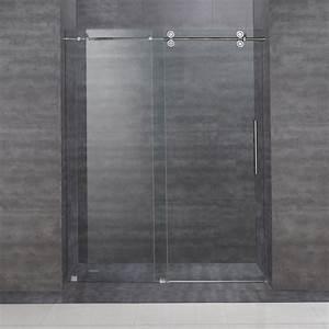 Aston SDR978 60-in Frameless Sliding Shower Door ATG Stores