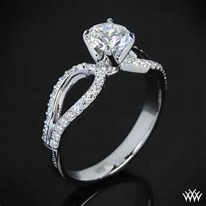 Infinity diamond engagement ring 56 for Infinity diamond wedding ring