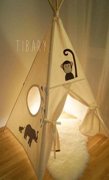 Tipi Zelt Kinderzimmer Dawanda by Dschungel Tipi Teepee Zelt Personalisiert Tibary