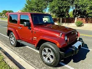 2008 Jeep Wrangler 4wd 2dr Sahara  122k Miles  Manual