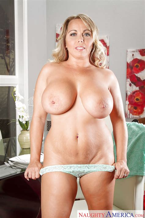 Big Tit Milf Amber Lynn Bach In Panties Exposes Juicy Butt