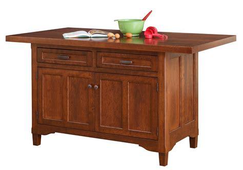 amish kitchen island  dutchcrafters furniture store