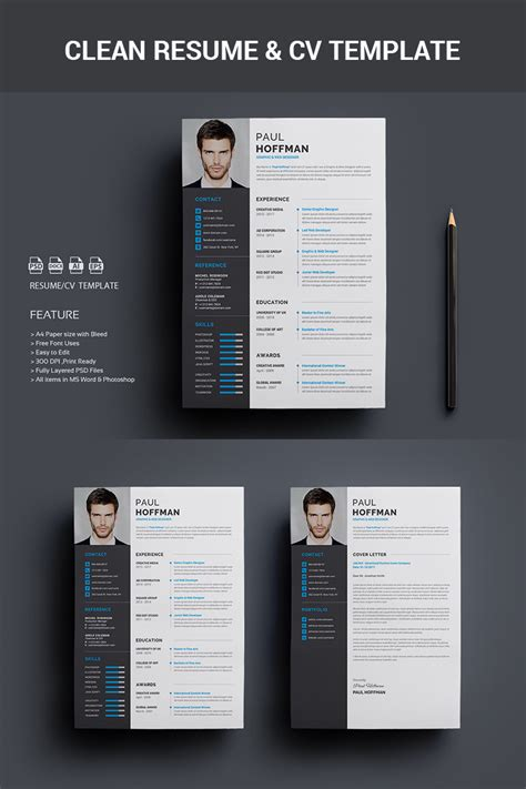resumecv paul hoffman resume template