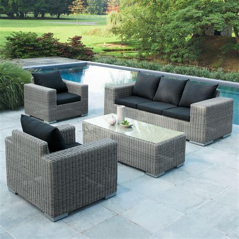 canapé pour terrasse 25 salons et canapés d 39 extérieur pour un été bonheur