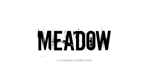 meadow  tattoo designs