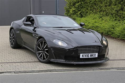 aston martin amg powered aston martin vantage first spy shots gtspirit