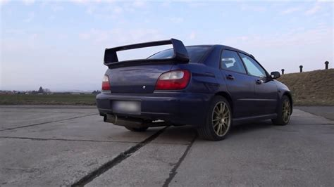 subaru impreza wrx launch control  bar td turbo youtube