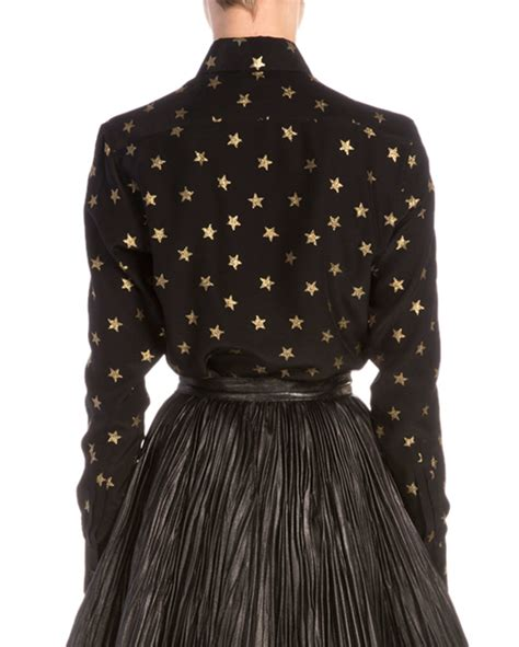 black and gold blouse gold and black blouse clothing