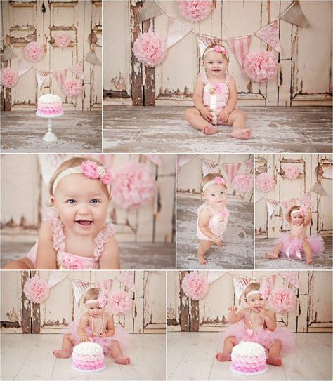 shabby chic 1st birthday connecticut newborn photographer laura elyse photography ct cake smash photography savanna
