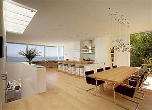 la cuisine moderne et ses visages multiples design feria With salle À manger contemporaine avec cuisine americaine