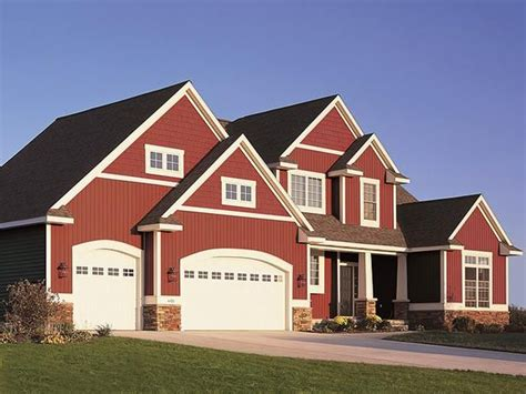 Red Exterior Houses  Top Six Exterior Siding Options