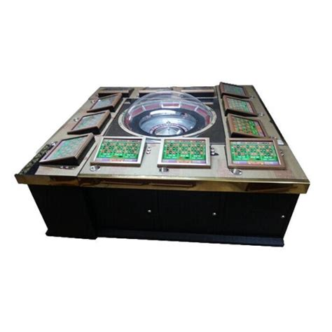 12 Players Metal Case Kingkong Electronic Roulette Table