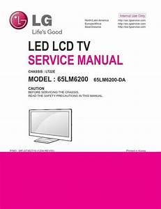 Lg 65lm6200 Ub 3d Led Tv Service Manual