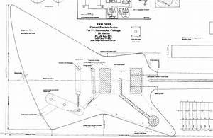 Explorer Electric Guitar Plans