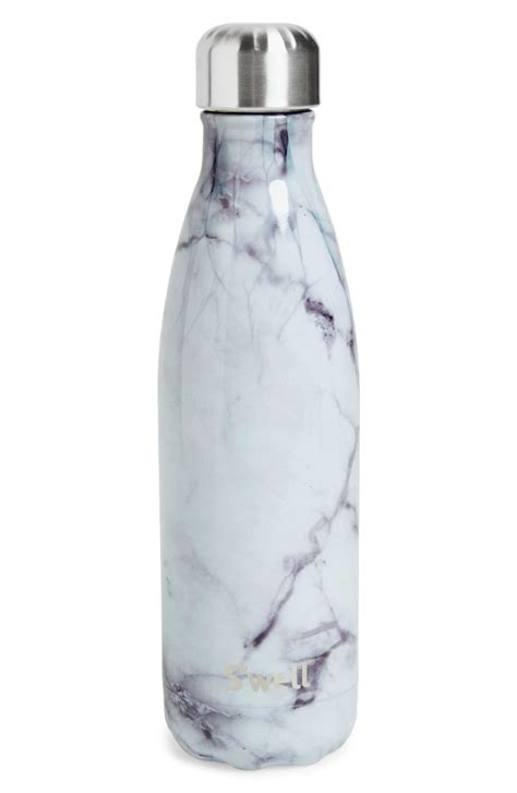 1658 white marble swell bottle s well white marble insulated stainless steel water