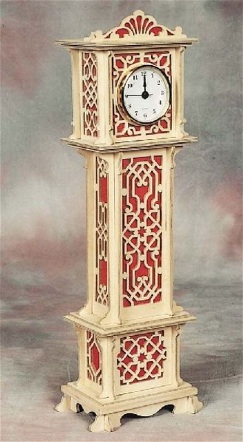 miniature grandfather clock plan hobbies
