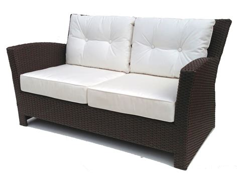 Outdoor Wicker Loveseat by Outdoor Wicker Loveseat Sonoma