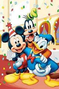 Happy Birthday Mickey Mouse : happy birthday happy and mickey and friends on pinterest ~ Buech-reservation.com Haus und Dekorationen
