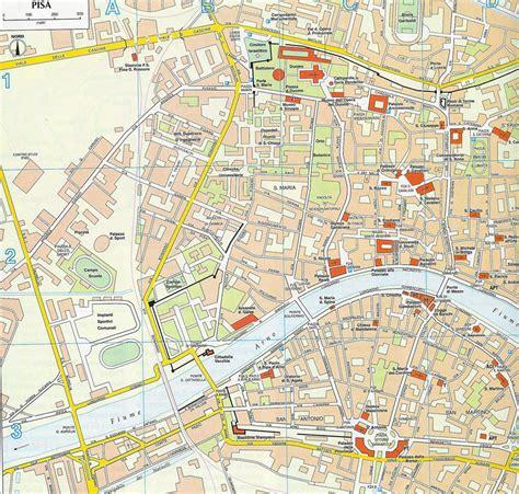 map of pisa pisa map