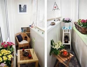 Lösungen Für Kleine Balkone : kleiner balkon 40 kreative und praktische ideen ~ Bigdaddyawards.com Haus und Dekorationen