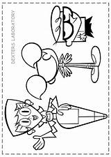 Coloring Laboratory Pages Dexter Getcolorings Printable sketch template